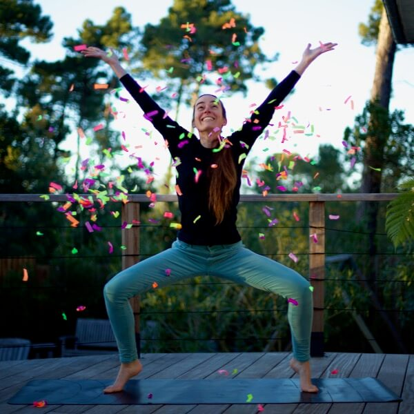 Groupe de féministes adeptes de Yoga
